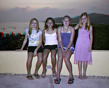 Emily, Daniela, Kelly and Elena