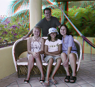 Kelly and Daniela with Andy and Laura