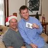 Rob & Santa Dad