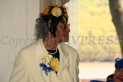 Aileen Rucker at the AME Zion Church 180 Anniversary.  Chuck Stewart, Jr./HUDSON VALLEY PRESS