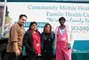 Rafael Vazquez, Selena Duclet, Maria Dezago and Delores Drayton of the Greater Family Health Center