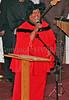 Evangelist Carol Moses during the dedication of Mt. Carmel Church.