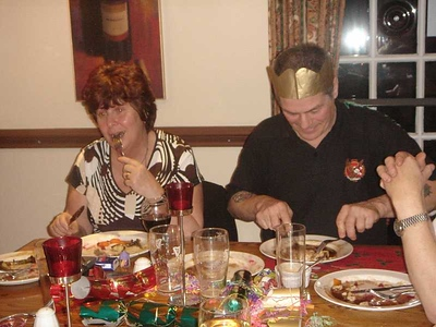 Cricketers Xmas Meal 2007