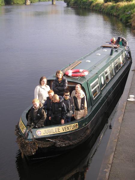 Cubs - Narrowboat 2007