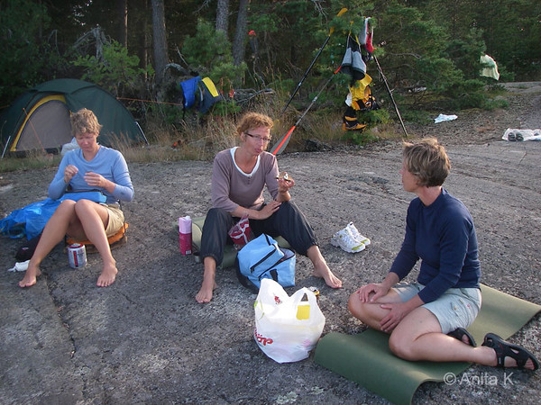 Damernas fria paddling, 25-26/8