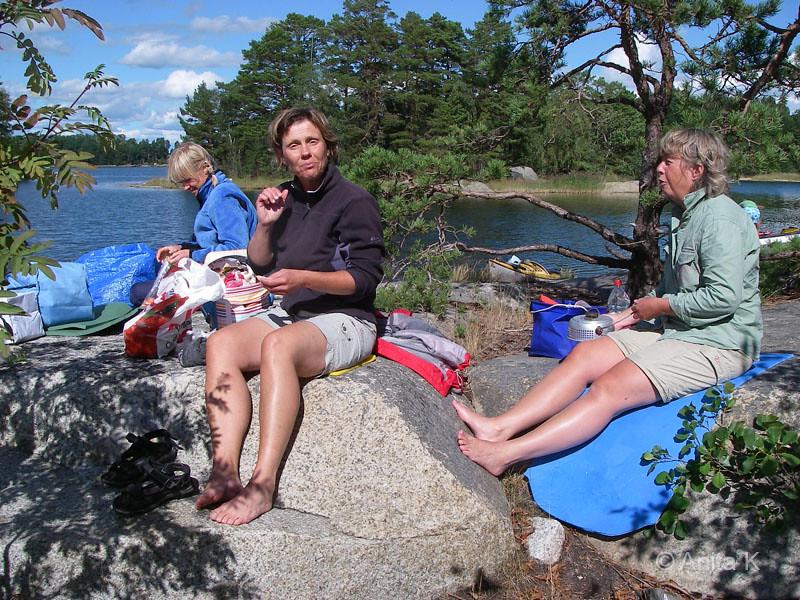 Anja, Karin och Kattis