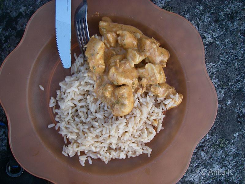 Kyckling och ris