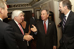 Martin J. Sullivan, President and CEO of American<br /> International Group, Inc., Mayor Michael Bloomberg & Ned Cloonan,<br /> Chairman, Insurance Industry Charitable Foundation