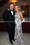 Guest of Honor, Frank Anderson, (Director of the Royal Danish Ballet; Knight of the Royal Danish Order of Dannenborg, First Grade) with Lisa Resling Halpern, Christmas Ball Chair