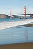 12-30-07 Baker Beach Bridge Reflection