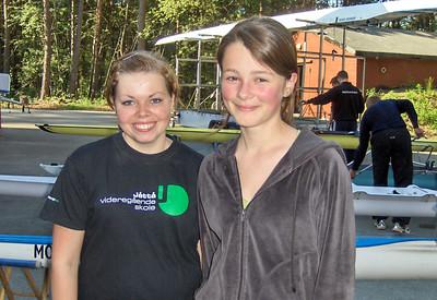 Maria Bang og Astrid Lescoeur