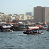 Dubai creek.  Saw lots of water taxis full of workers.