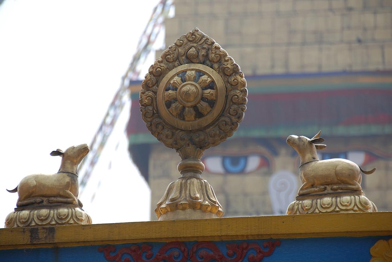 Buddha eyes.
