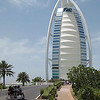 Burj Al Arab 7 star hotel.  Each room is two floors with a butler.
