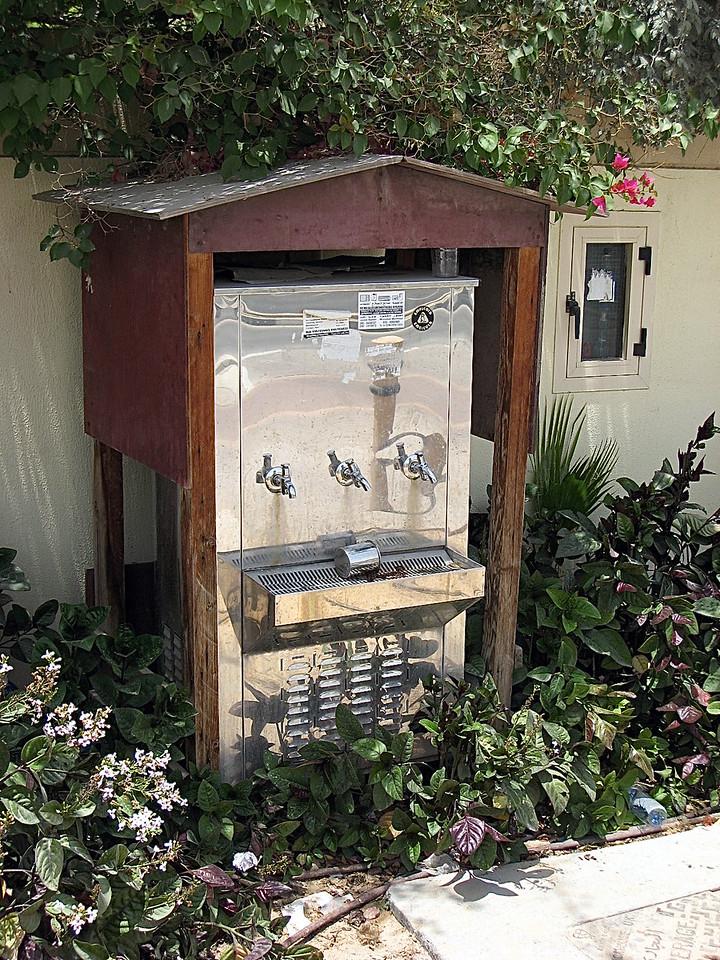 Nice water fountain