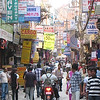 Thamel shopping area.