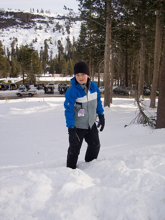 Early Season Skiing At Kirkwood