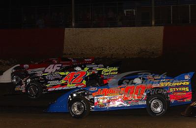00H Chuck Harper, 42 Terry Casey and 46 Doug Horton