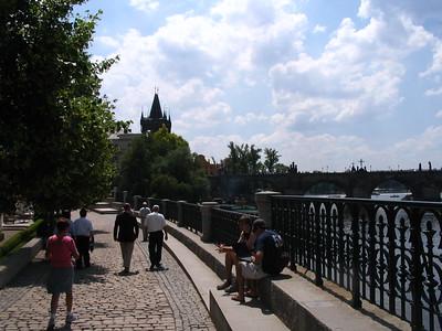 Walkway along Elbe River - Lydia Osborne