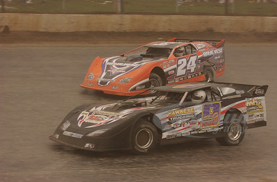 S9 Dan Schlieper and 24 Rick Eckert