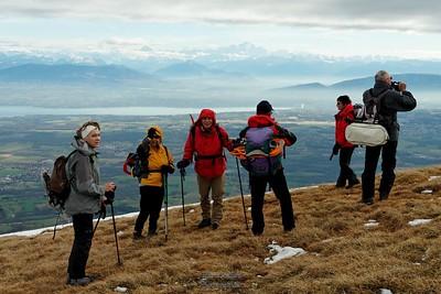 Lélex - Colomby de Gex - Vue sur les Alpes - Mont Blanc - Genève