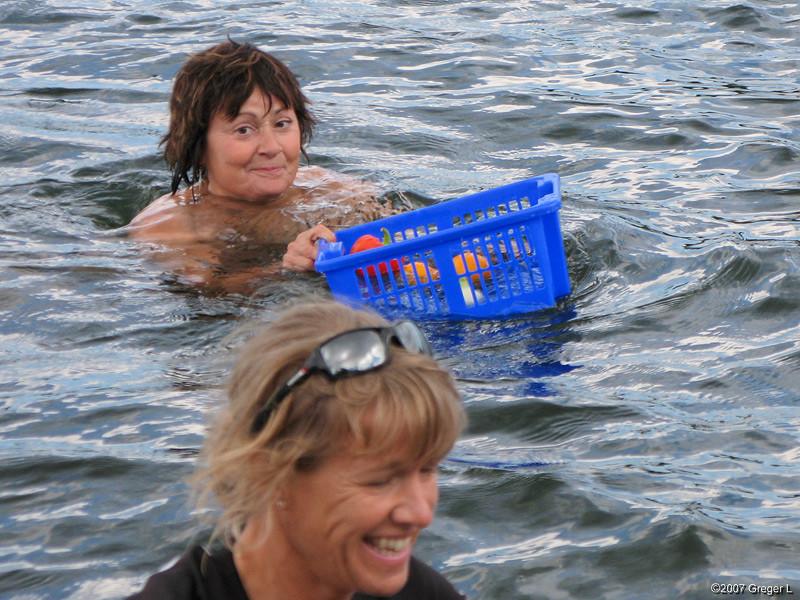 Båtsvall gav välsköljd frukt