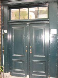 Front door of the Anne Frank House
