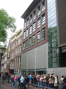 Public entrance to the Anne Frank House