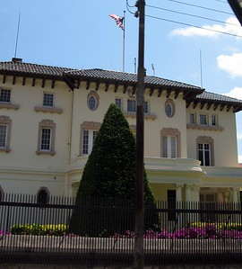 The Consulate of the United States, established in 1797 and one of the oldest U.S. consulates in the world
