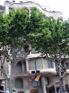 Building designed by Antoni Gaudí