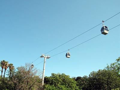 Teleferic de Montjuic (Montjuic Cable Cars)
