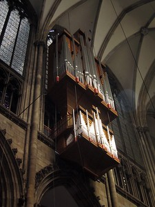 Pipe organ of Dom (Cologne Cathedral)