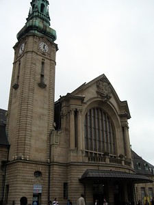 Gare de Luxembourg (Luxembourg Railway Station)