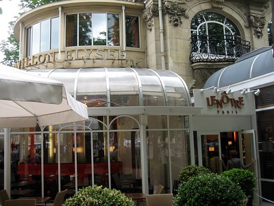 Lenôtre, a gourmet restaurant and culinary school on the Champs-Élysées