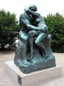 Auguste Rodin's Le Baiser (The Kiss)