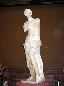 The Venus de Milo, at The Louvre Museum