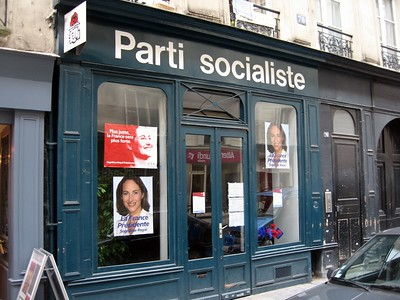Office of the Parti Socialiste (Socialist Party of France), whose presidential candidate, Marie-Ségolène Royal, received 47% of the vote in the May 6, 2007, election