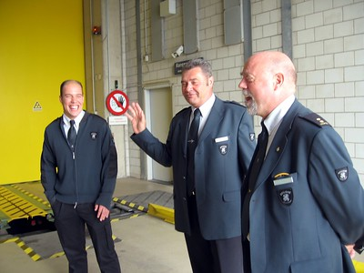 Customs officers at Port of Rotterdam