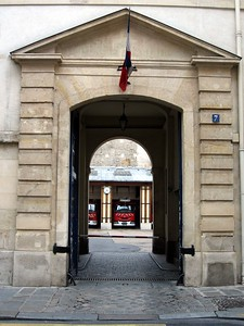 Fire station in Paris