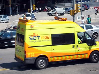 Ambulance in Barcelona