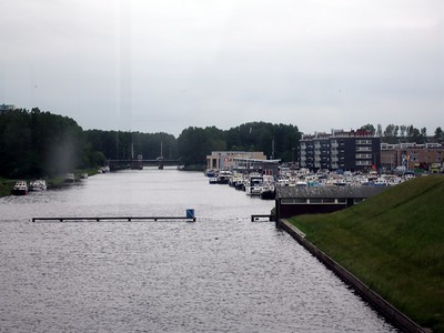 Dike maintained by the Rijnland District Water Control Board