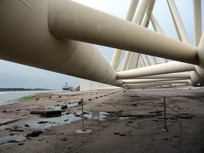 Maeslant Storm Surge Barrier, near Rotterdam
