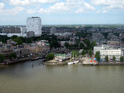 The Nieuwe Mass (New Muese) River in Rotterdam