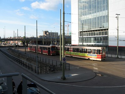 Trams in The Hague