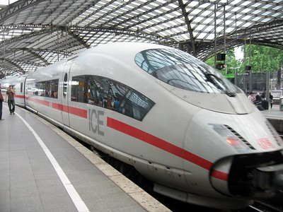 InterCityExpress train from Cologne (Germany) to Arnhem (Netherlands)