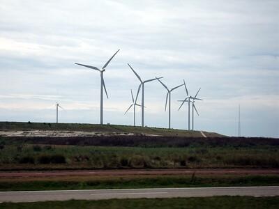 Windmills in Rotterdam