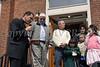 Father Thomas Bobadilla blesses Corrales family house
