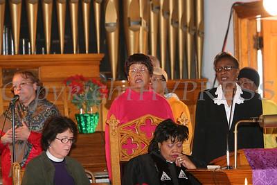 AME Zion Choir sings