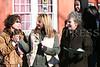 Family Advocates Jodi Schuyler and Danielle Crinieri with Deirdre Glenn