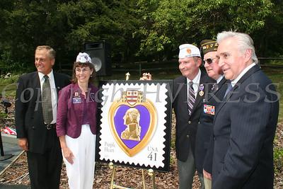 Purple Heart postage stamp